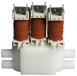CSV Pneumatic Solenoid Valves on Custom Subbase